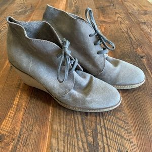 J. Crew Macalister Suede Ankle Booties Size 9